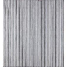Самоклеюча декоративна 3D панель білий бамбук 700x700x8мм